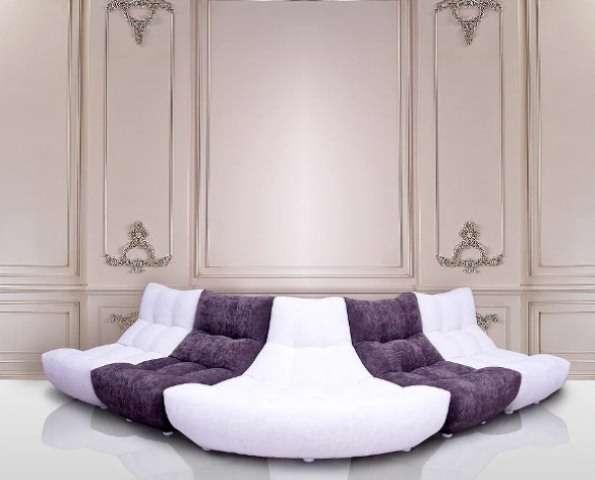 Continental радиусный диван в стиле модерн