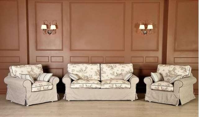 Классический комплект мебели в стиле Прованс Босфор.