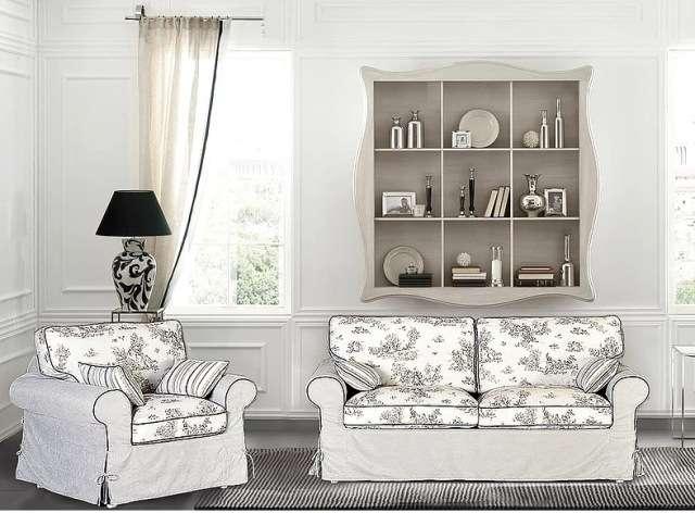 Красивая мягкая мебель BOSFHOR в гостиную комнату в стиле Прованс