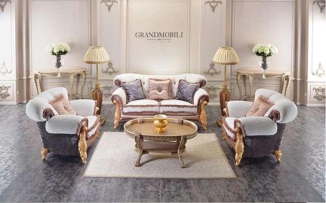 Комплект классической мягкой мебели Винзор