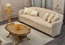 Мягкий классический диван Веста с отделкой капитоне