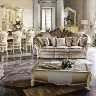 Королевский итальянский диван Мадам Рояль.