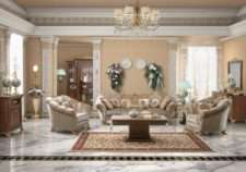 Комплект дорогой мягкой мебели Аида.
