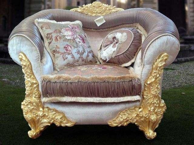Кресло в стиле барокко Амина.