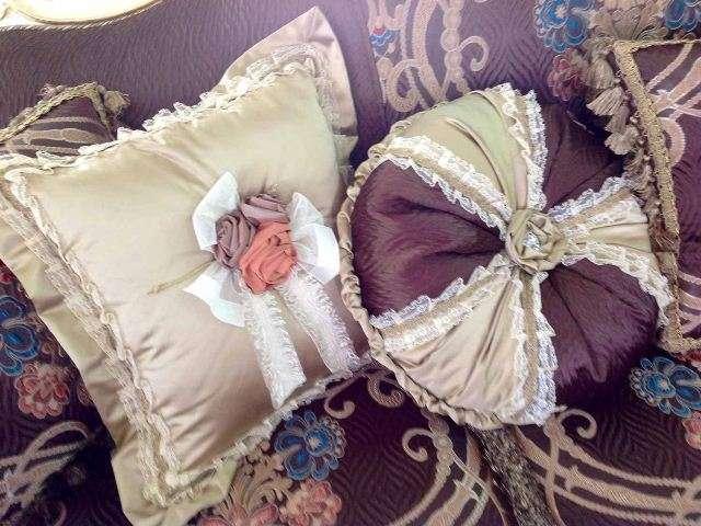 Декоративные подушки для дивана Анастасия