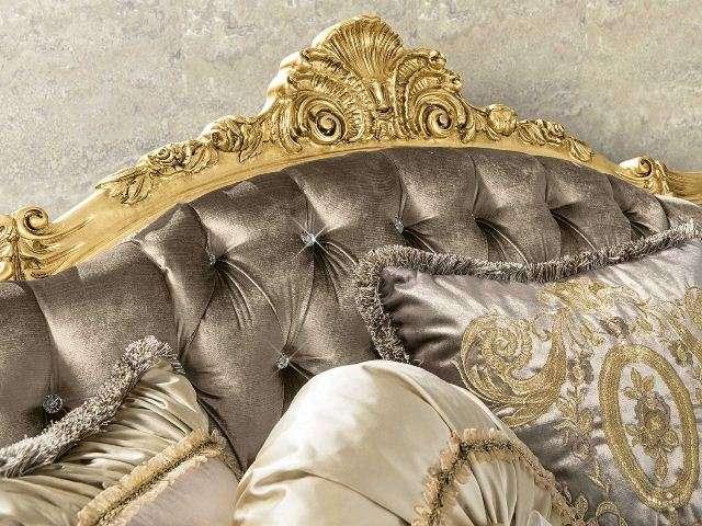 Декоративное изголовье дивана и кресел Анастасия.