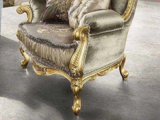 Деревянные элементы кресла Анастасия.