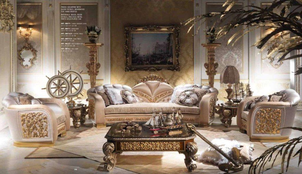 Дорогой классический диван Каппеллетти
