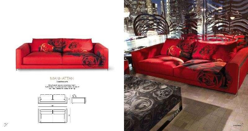 Трехместный диван от Роберто Ковалли