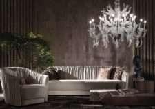Комплект мягкой кожаной мебели Шарпей