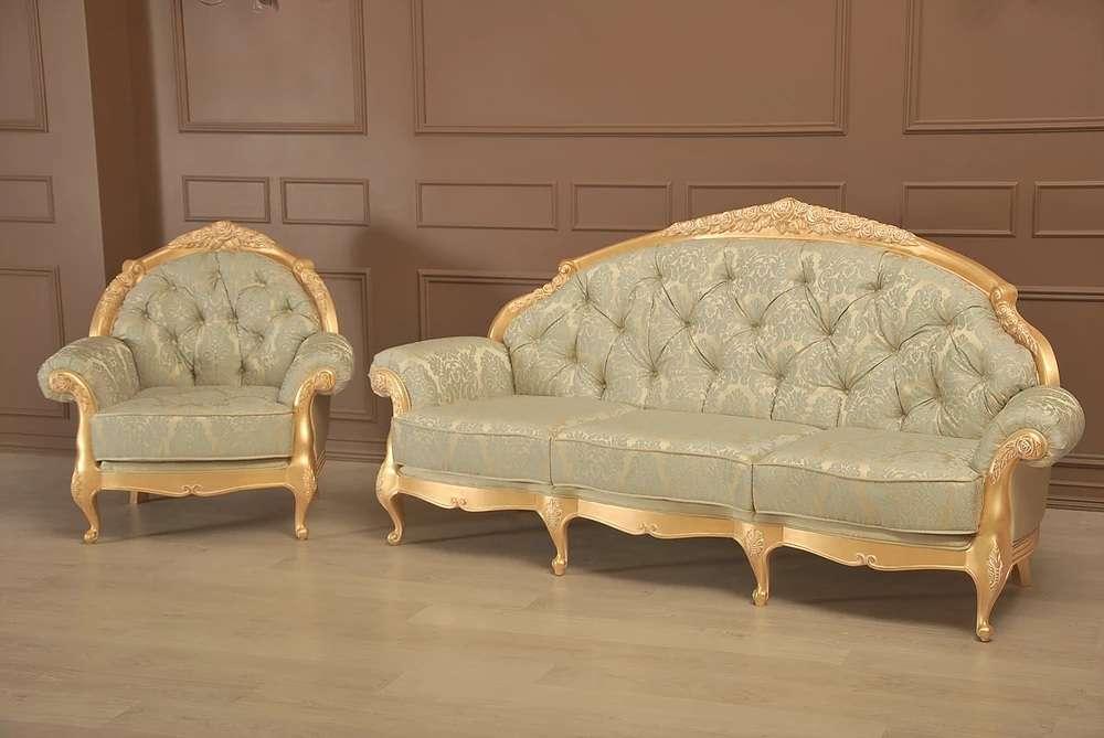 Дорогой диван в стиле барокко Анжелика