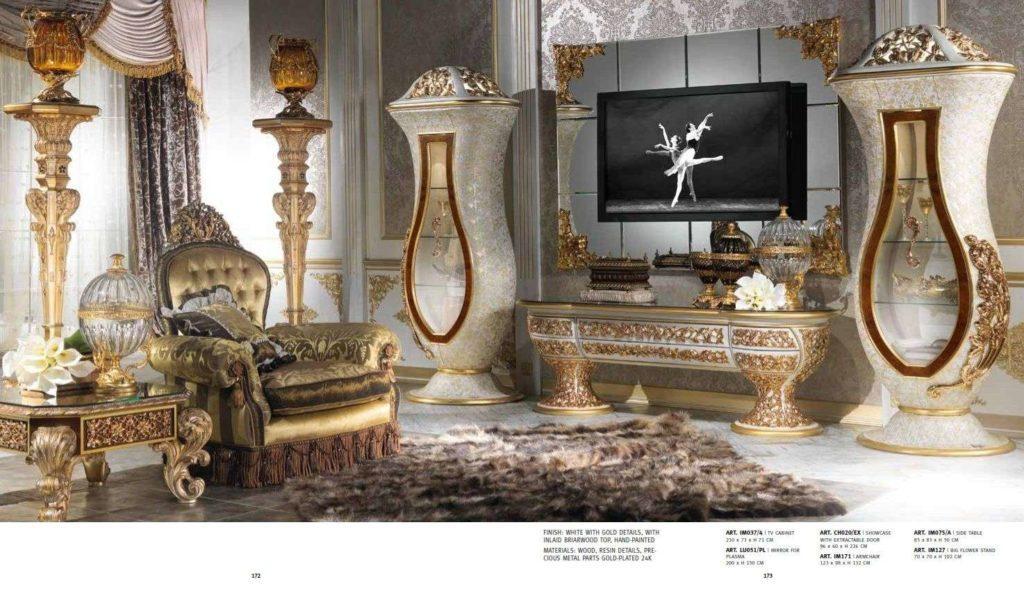 Итальянская дворцовая мебель