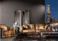 Итальянский диван Манхэттен в стиле Арт-Деко . ROBERTO CAVALLI