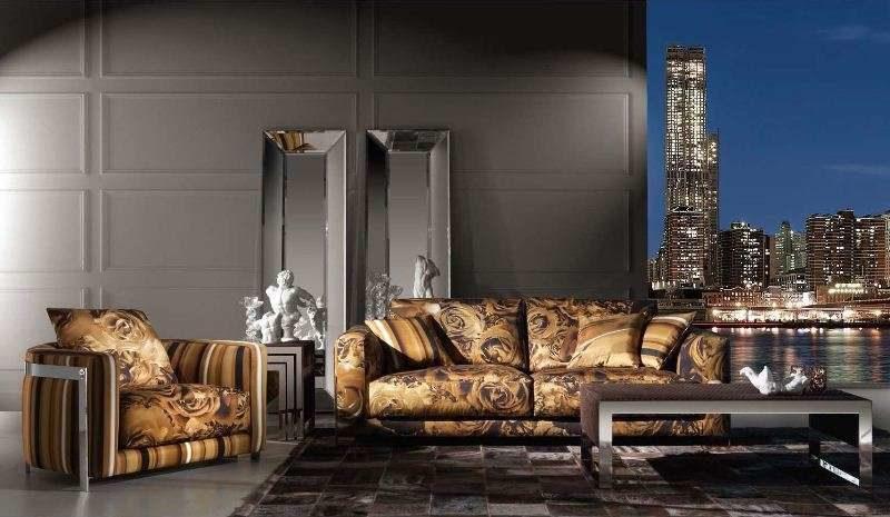 Итальянский дорогой диван Манхеттен с стиле арт- деко