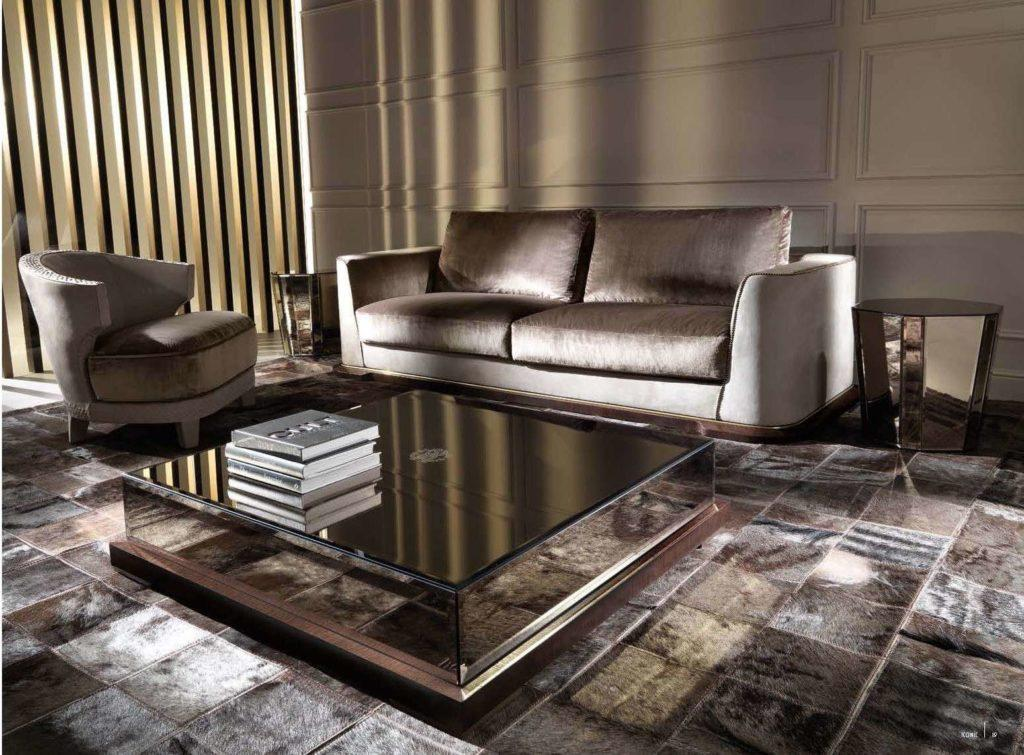 Дорогой мягкий удобный диван Вейв. Италия