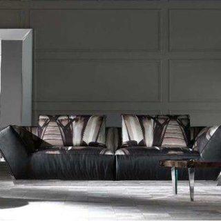 Кожаный итальянский диван Атлант.