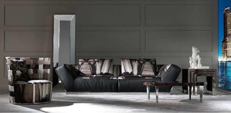 Дорогой диван стиле Арт-Деко Атлантик. Италия.