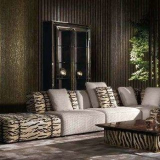 Модульный диван в стиле Арт-деко HAMPTONS