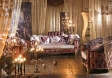 Дорогой мягкий классический диван Шарм.
