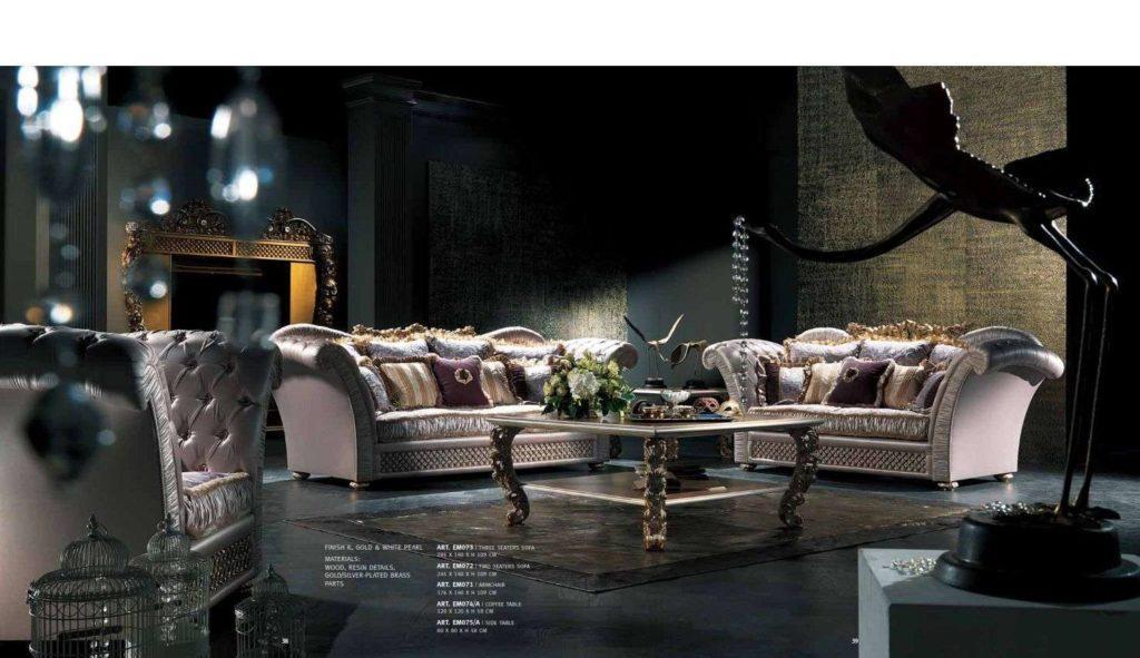 Дорогой королевский диван от итальянской фабрики Каппеллетти