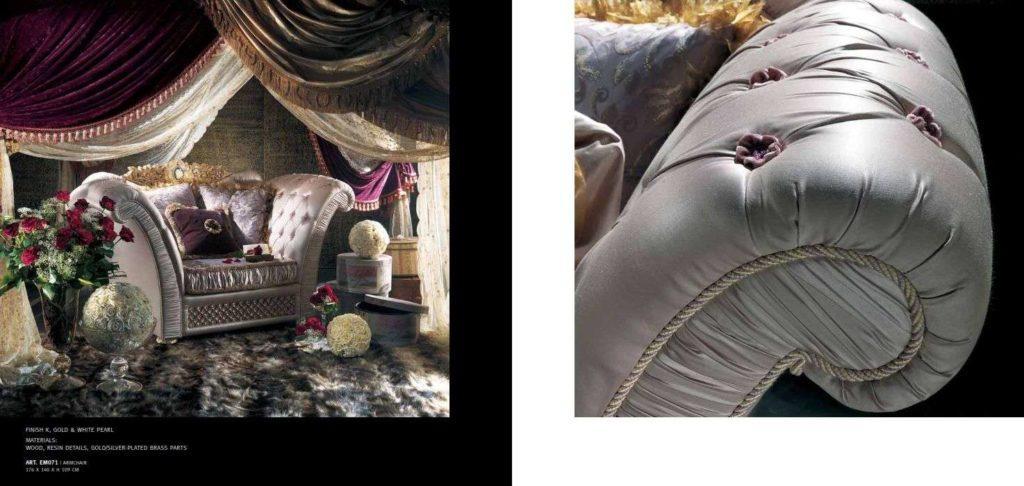 Классический диван с отделкой каретная стяжка.