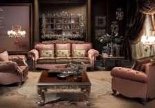 Дорогой итальянский комплект мягкой мебели Паша, фабрика Каппеллетти