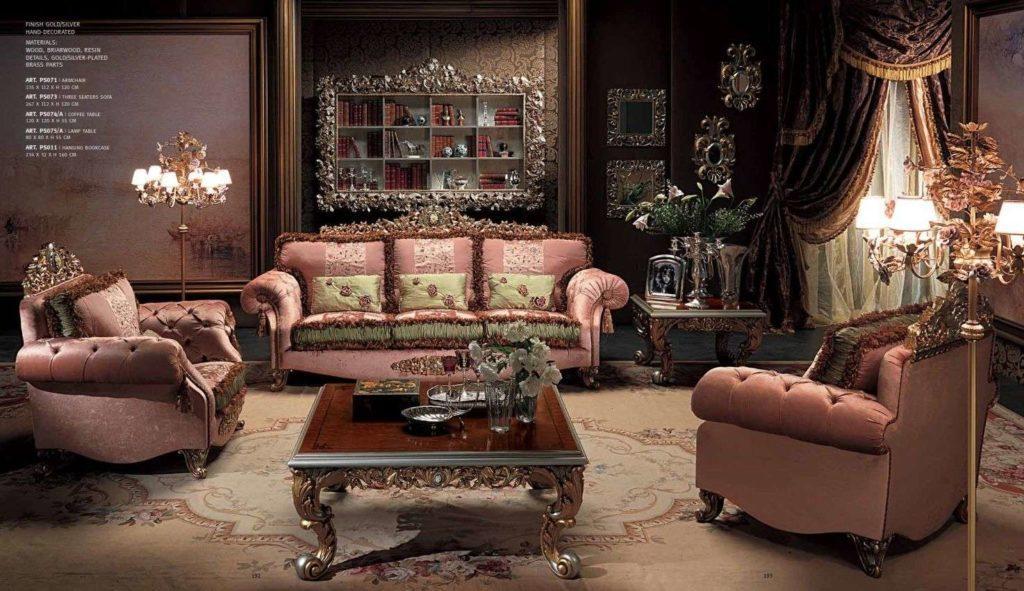 Дорогой итальянский комплект мягкой мебели Паша, Каппеллетти