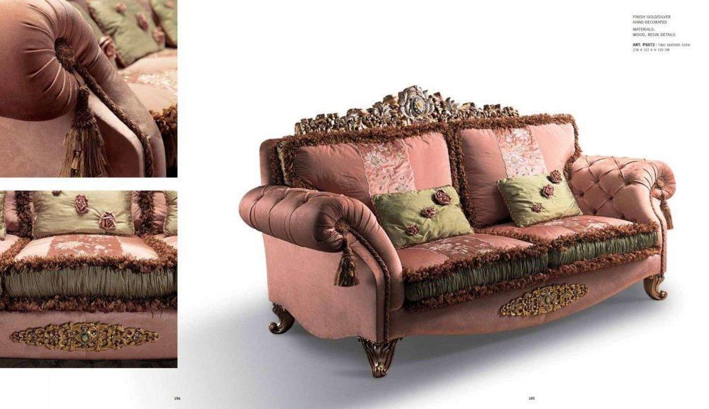 Элитный классический диван Паша