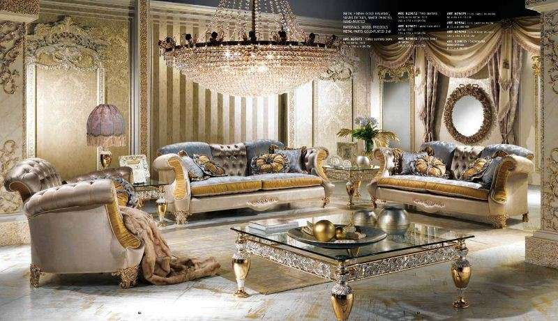 Дорогая коллекция мягкой мебели от итальянской фабрики