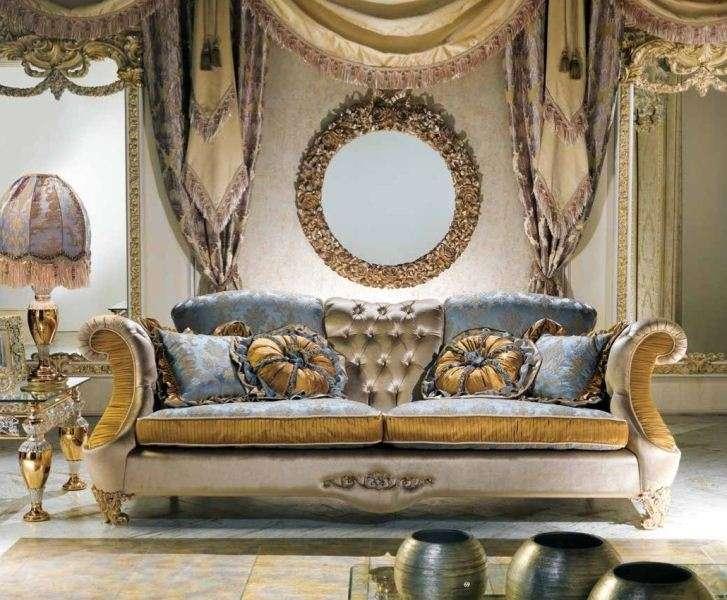 Итальянский дорогой классический диван фабрика Каппеллетти