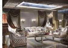Элитный белый комплект классических итальянских диванов Каппеллетти