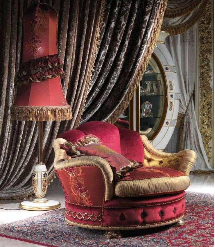 Красное кресло в мебельный гарнитур Каппеллетти