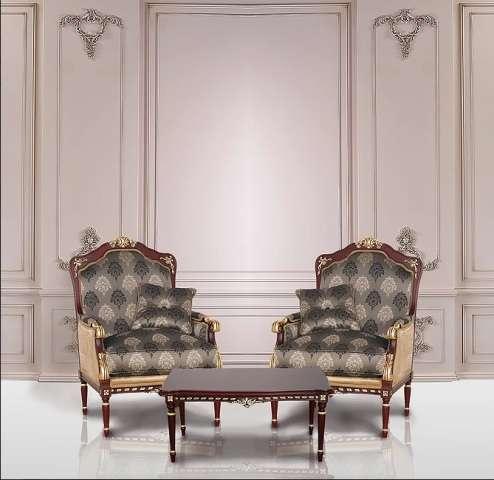 Кресла в стиле барокко Беатриче