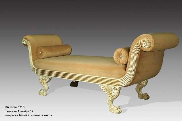 Кушетка классическая в стиле барокко Виктория