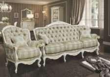 Классический резной диван Болеро в стиле барокко, GRAND