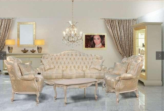 Итальянский диван Болеро в стиле барокко.