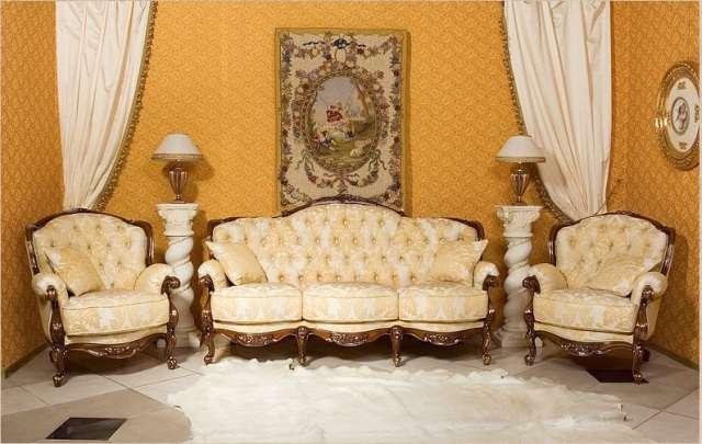 Светлые обивки дивана Болеро