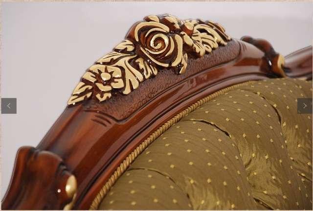 Резная корона дивана Болеро