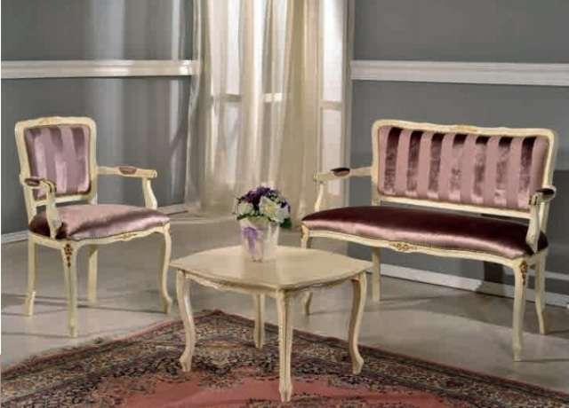 Кушетка с креслами для гостевой комнаты 312, Фиус