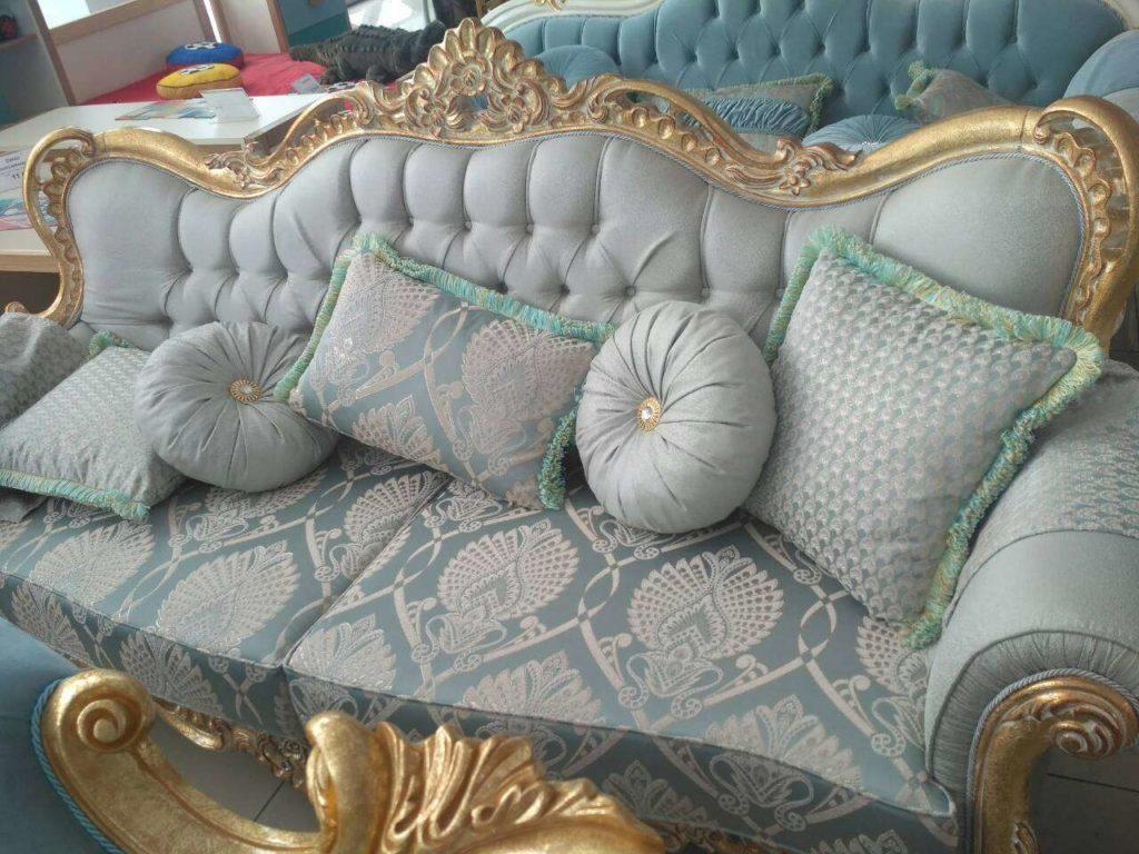 Дорогая элитная мягкая мебель для гостиной Падишах