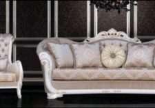 Классический резной набор мягкой мебели Валенсия, Турция