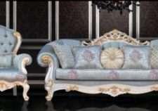 Классический диван в стиле барокко Венеция, Турция