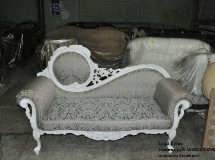 Белая резная мягкая мебель Жозефина, Украина