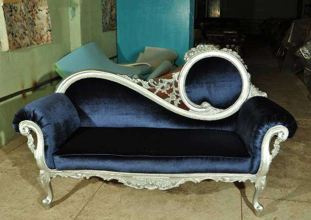 Кушетка в стиле барокко Жозефина левая