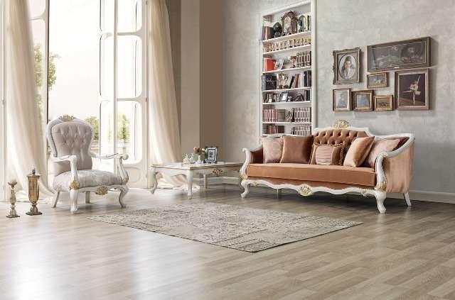 Классический мягкий комплект мебели в холл Мария