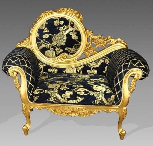 Элитное кресло Жозефина в стиле барокко