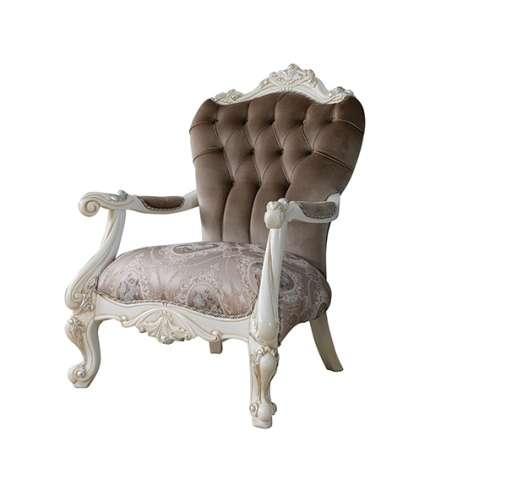 Классическое резное кресло Лена в стиле барокко