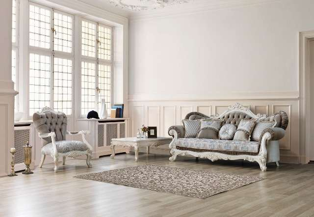 Комплект мягкой мебели Венеция в стиле рококо, Турция