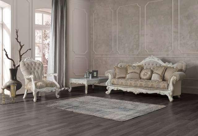 Резной диван Венеция в стиле барокко, Турция