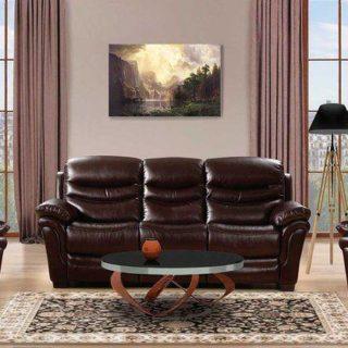Мягкая мебель «Хантер» (Hunter) экокожа темно-коричневый